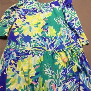 Love this print girls Lilly dress size 8/10